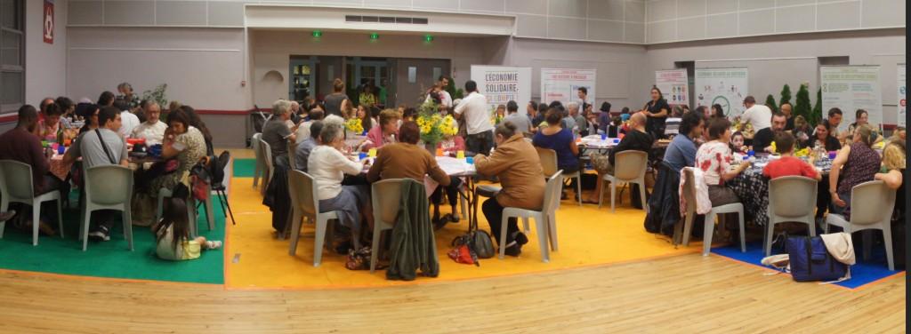 repas - Paëlla géante à la salle Son Tay 2013